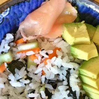 Vegetable Sushi Salad.