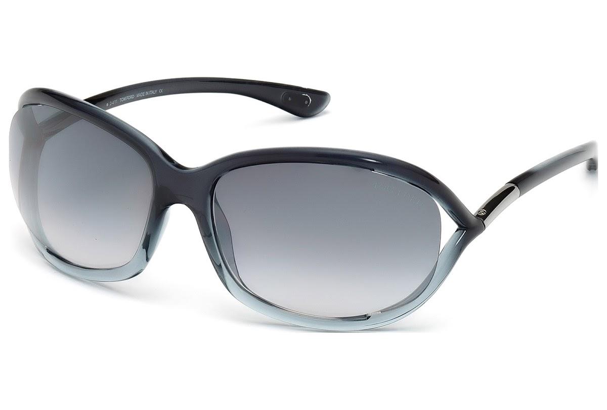 d2b648b0e34 Buy Tom Ford Jennifer FT0008 C61 20B (grey other   gradient smoke)  Sunglasses