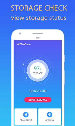 WiTTo Clean - Save Space and Speed-up the Phone - screenshot