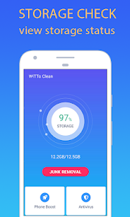 WiTTo Clean - Save Space and Speed-up the Phone Screenshot