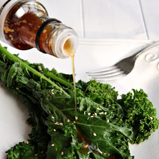 Sauteed Kale with Ginger Soy