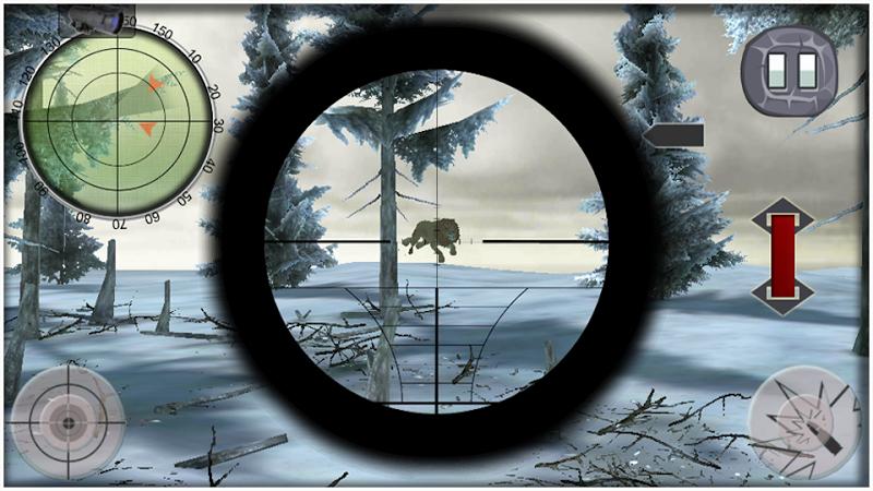 Скриншот Дикий лев снайпер охотник