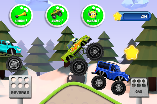 Monster Trucks Game for Kids 2 apkslow screenshots 6
