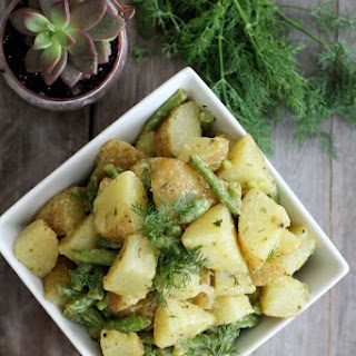Dijon and Dill Potato Salad