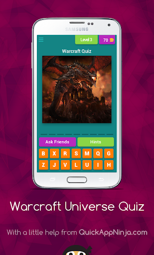Warcraft Universe Quiz