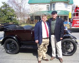Photo: Stewart and Dan Sexton - Denton Centennial 2007 ---1907 2007 - http://denton100.com