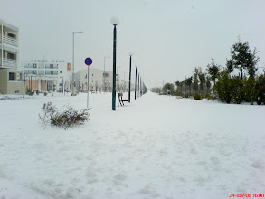Photo: The Athens Olympic Village - Snows - Ιανουάριος 2006 - Χιόνια 1