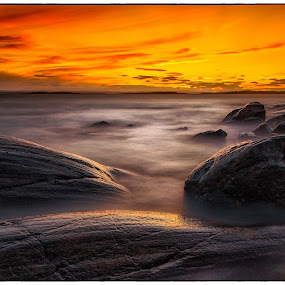 Sunset in southern Norway by Jan Egil Sandstad - Landscapes Sunsets & Sunrises ( canon, colors, østfold, long exposure, norway )