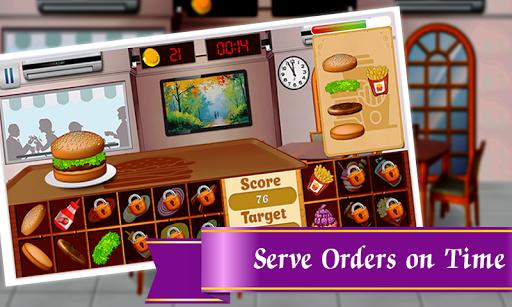 Burger Restaurant : Cooking Food Fever  captures d'écran 2