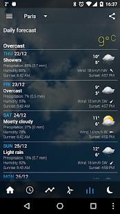 Transparent clock & weather Screenshot 20