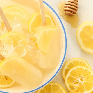 Lemon Ginger Popsicles