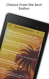 Dancehall Music Radio Stations- screenshot thumbnail