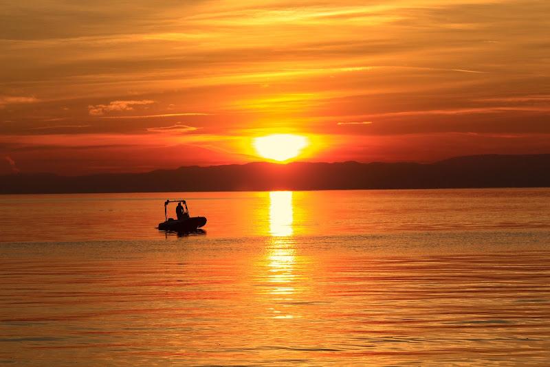 tramonto Orange di gatta66
