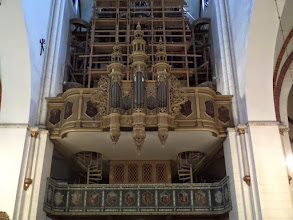 Photo: I attended an organ concert at the cathedral. The organ with its 6,718 pipes is of high quality and very valuable.