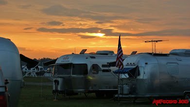 Photo: the sun sets on a great day ..... in the Poconos of Pennsylvania, August 1, 2010