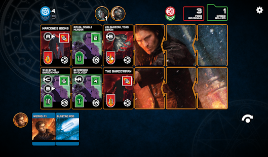 The Dresden Files Cooperative Card Game Screenshot