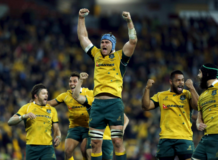 Australia's Wallabies. Picture: REUTERS/JASON REED