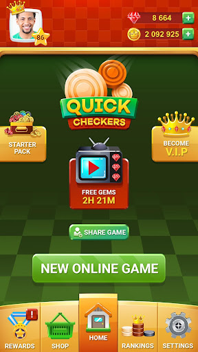 Checkers Online - Quick Checkers 2020 1.0.0 screenshots 2
