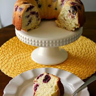 Sweet Cherry Bundt Cake.