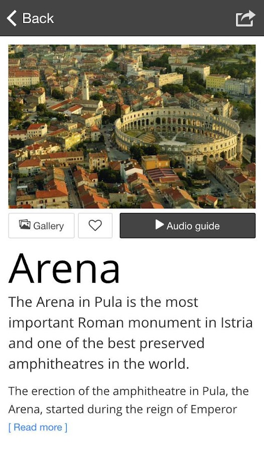 Istria Culture Top 100- screenshot