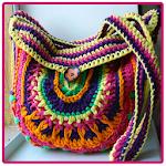 Crochet Purse and Tote Bag Icon