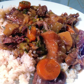 Pressure Cooker Spicy Oxtail Stew.