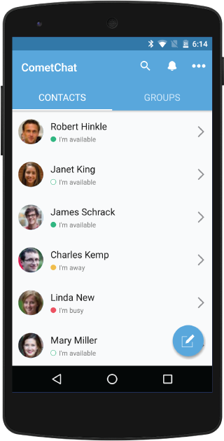 CometChat- screenshot