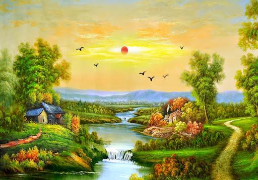 풍경 그림 퍼즐