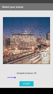 City puzzle - náhled
