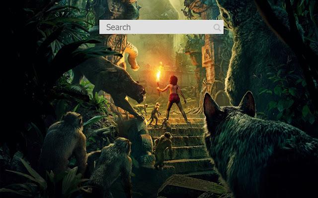 Nova aba O livro da selva