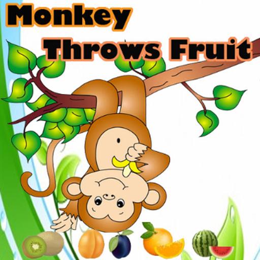 Monkey Throws Fruit