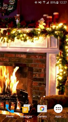Christmas Fireplace LWP 1.0 screenshots 6