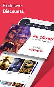 BookMyShow – Movies, Events & Sports Match Tickets App Download For Android and iPhone 2
