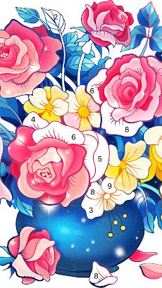 Color Fun - 数字で塗り絵 & ぬりえ - 色塗りアプリのおすすめ画像2