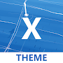 Material X Blue APK icon