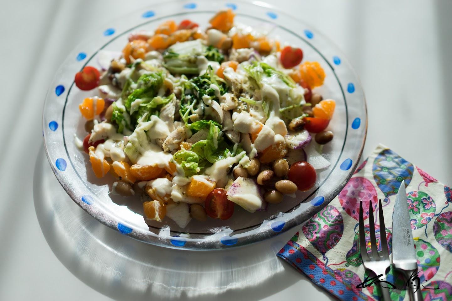 パワーサラダ「白菜と鶏ささみのサラダ」