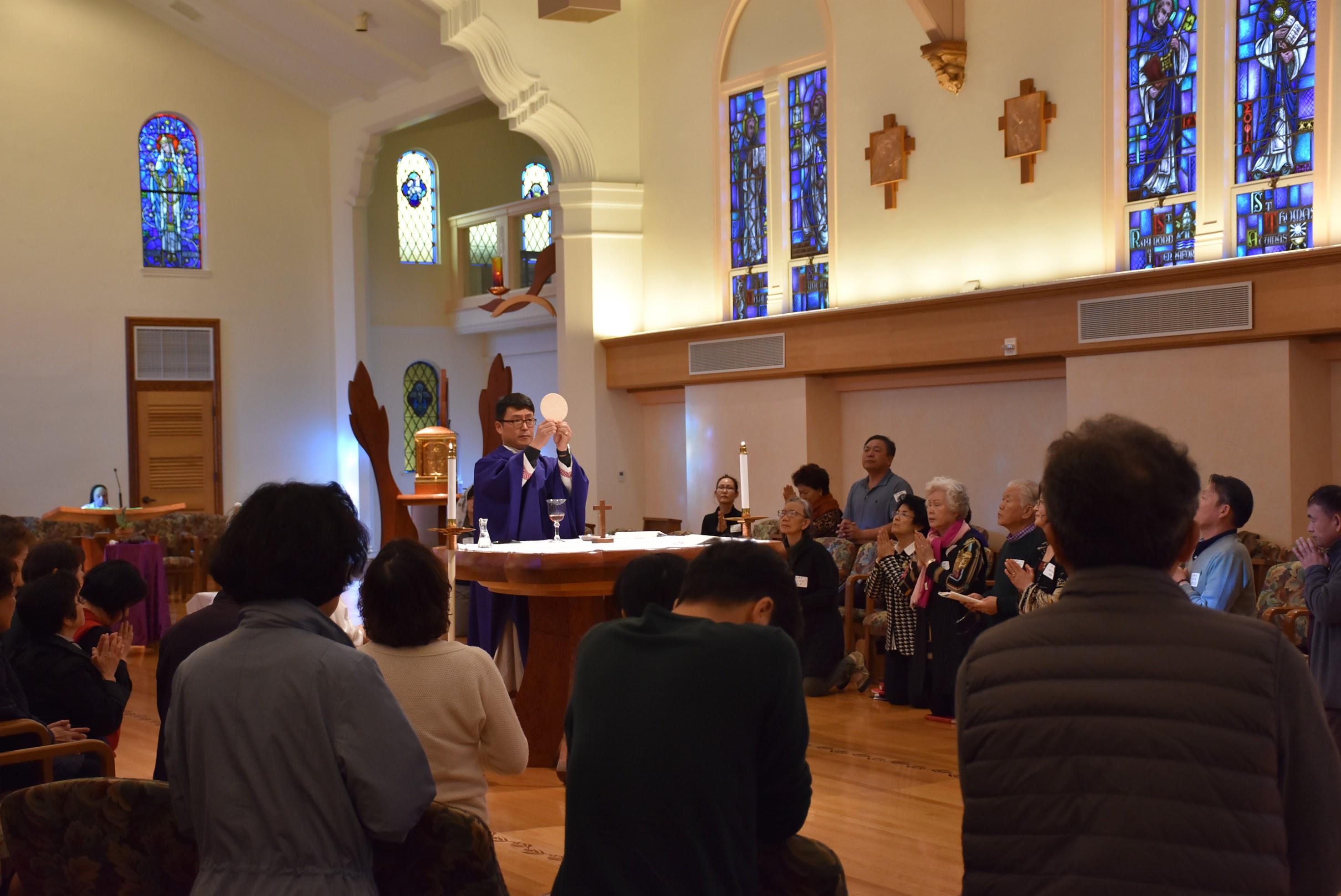 북가주 성령 쇄신 봉사회 일일 피정 Dominican Sisters of Mission San Jose  43326 Mission Circle Fremont 최기홍 바르톨로메오 신부