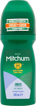 Mitchum Men 48H Protection Anti-Perspirant & Deodorant Roll-On - Ice Fresh, 100ml