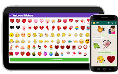 screenshot of 💚 WeLove : love stickers (WAStickerApps)