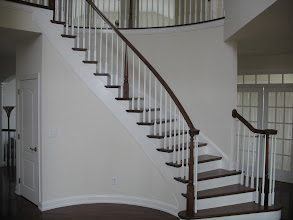 Photo: (Before) Young's Curved stairs Warminster, PA