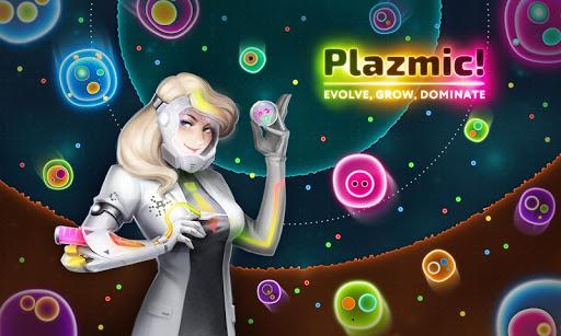 Plazmic! Battle Royale io Cell Eating Game apktram screenshots 5