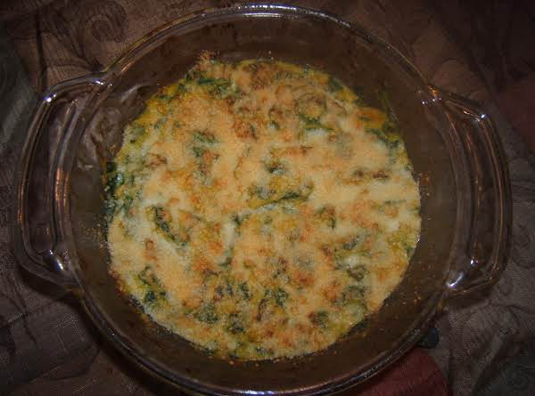 Parmesan Squash And Spinach