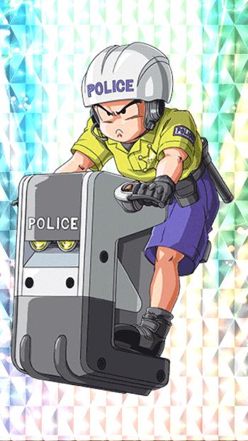 街の平安・クリリン(警官)