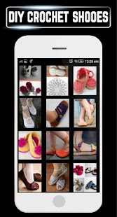 DIY Shoes Crochet Baby Booties Slipper ladies Home - náhled