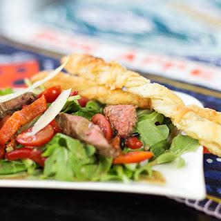 Flank Steak and Arugula Salad