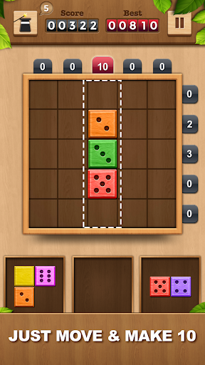 TENX - Wooden Number Puzzle Game 1.1.3 screenshots 2