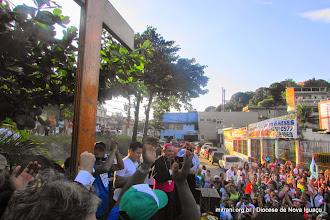 Photo: OS SIMBOLOS DA JORNADA  MUNDIAL DA JUVENTUDE 2013  EM BELFORD ROXO / DIOCESE DE NOVA IGUAÇU