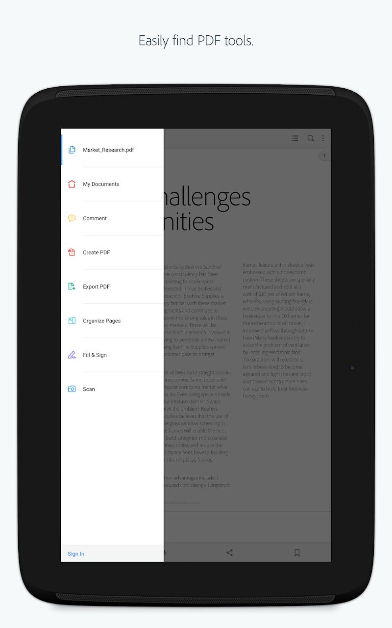 Adobe Acrobat Reader Screenshot 6