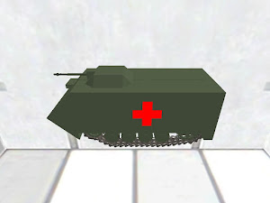 Light tank ambulance