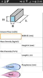 Pressure losses Piping pressure drops - Demo - náhled